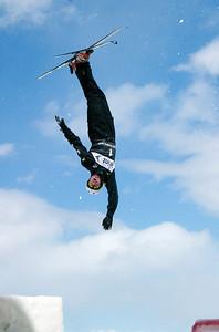 Scotty Bahrke - Sprint U.S. Freestyle Championships, aerials, Utah Olympic Park. Photo: Tom Kelly/U.S. Ski Team