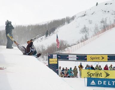 JP Solberg - Sprint U.S. Freestyle Championships, skier halfpipe, Park City Mountain Resort Photo: Tom Kelly/U.S. Ski Team