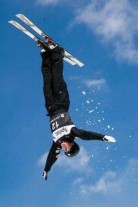 Allison Treleaven, Sprint U.S. Freestyle Championships, aerials, Utah Olympic Park. Photo: Tom Kelly/U.S. Ski Team