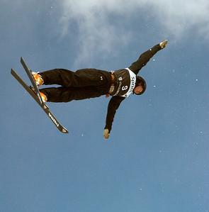 Emily Cook, Sprint U.S. Freestyle Championships, aerials, Utah Olympic Park. Photo: Tom Kelly/U.S. Ski Team