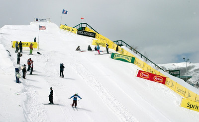 Sprint U.S. Freestyle Championships, aerials, Utah Olympic Park. Photo: Tom Kelly/U.S. Ski Team