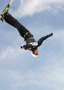 Zac Amidan - Sprint U.S. Freestyle Championships, aerials, Utah Olympic Park. Photo: Tom Kelly/U.S. Ski Team