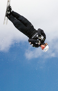 Ryan St. Onge - Sprint U.S. Freestyle Championships, aerials, Utah Olympic Park. Photo: Tom Kelly/U.S. Ski Team