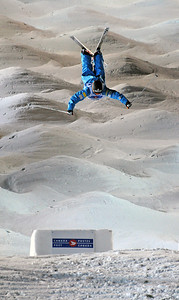 Michael Morse in World Cup moguls at Olympic test event at Cypress Mountain, BC. (U.S. Ski Team - Tom Kelly)