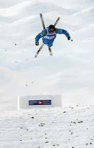 World Cup moguls at Olympic test event at Cypress Mountain, BC. (U.S. Ski Team - Tom Kelly)