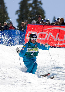 Shelly Robertson 2009 Sprint Freestyle Nationals at Squaw Valley  Photo ©Tom Zikas