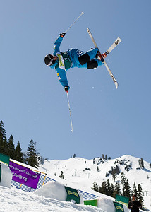 Mike Morse 2009 Sprint Freestyle Nationals at Squaw Valley  Photo ©Tom Zikas