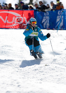 Shannon Bahrke 2009 Sprint Freestyle Nationals at Squaw Valley  Photo ©Tom Zikas