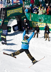 Michelle Roark 2009 Sprint Freestyle Nationals at Squaw Valley  Photo ©Tom Zikas