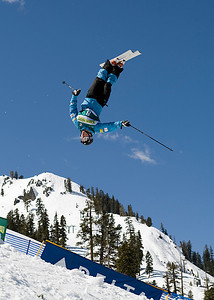 Bryon Wilson 2009 Sprint Freestyle Nationals at Squaw Valley  Photo ©Tom Zikas