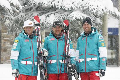 Daron Rahlves, Casey Puckett, Tyler Shepherd 2009-10 U.S. Ski Cross Ski Team