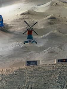 Shannon Bahrke 2010 Freestyle World Cup in Calgary, CA Photo: Garth Hagar, U.S. Ski Team