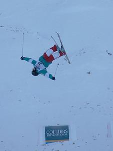 David Babic 2010 Freestyle World Cup in Calgary, CA Photo: Garth Hagar, U.S. Ski Team