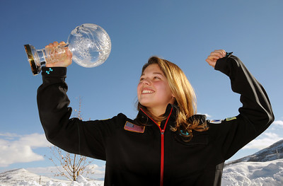 Ashley Caldwell of the U.S. Freestyle Ski Team was named 2010 FIS World Cup Rookie of the Year for women's aerials.