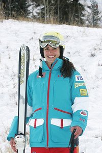 2010 U.S. Freestyle Moguls Ski Team Ani Haas  Photo © Brian Robb