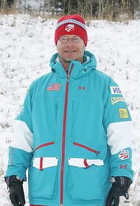 2010 U.S. Freestyle Moguls Ski Team Lasse Fahlen, Moguls Coach  Photo © Brian Robb