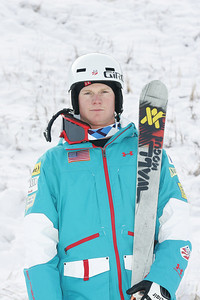 2010 U.S. Freestyle Moguls Ski Team Landon Gardner  Photo © Brian Robb