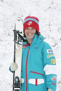 2010 U.S. Freestyle Moguls Ski Team Emiko Torito  Photo © Brian Robb