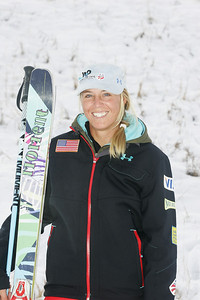 2010 U.S. Freestyle Moguls Ski Team Shelly Robertson  Photo © Brian Robb