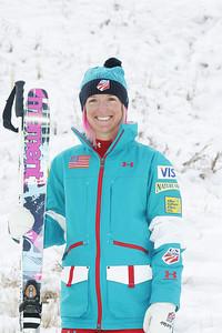 2010 U.S. Freestyle Moguls Ski Team Shannon Bahrke  Photo © Brian Robb