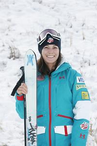 2010 U.S. Freestyle Moguls Ski Team Eliza Outtrim  Photo © Brian Robb