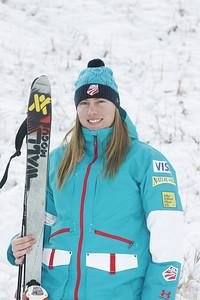 2010 U.S. Freestyle Moguls Ski Team Laurel Shanley  Photo © Brian Robb