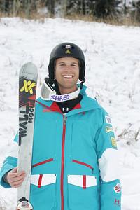 2010 U.S. Freestyle Moguls Ski Team Holt Haga Photo © Brian Robb