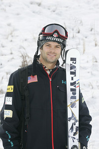 2010 U.S. Freestyle Moguls Ski Team David Babic  Photo © Brian Robb