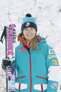 2010 U.S. Freestyle Moguls Ski Team Heather McPhie  Photo © Brian Robb