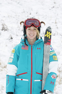 2010 U.S. Freestyle Moguls Ski Team Hannah Kearney  Photo © Brian Robb
