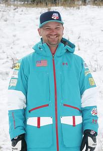 2010 U.S. Freestyle Moguls Ski Team Justin Hunt, Freestyle Physical Therapist Photo © Brian Robb