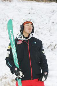 2010 U.S. Freestyle Moguls Ski Team Sho Kashima  Photo © Brian Robb
