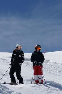 2010 Moguls Training Camp Heather McPhie and Eliza Outtrim Zermatt, Switzerland September, 2010 Photos: Garth Hagar and Lasse Fahlen/U.S. Ski Team