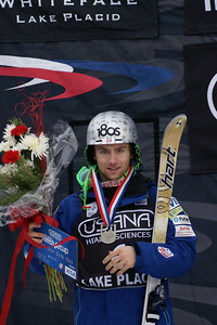 Patrick Deneen, 2nd place 2012 USANA Lake Placid Freestyle Cup Photo: Harald Marbler and Garth Hager