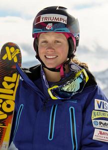 Heidi Kloser 2011-12 U.S. Moguls Ski Team Photo: Eric Schramm