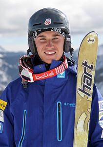 Ryan Dyer 2011-12 U.S. Moguls Ski Team Photo: Eric Schramm
