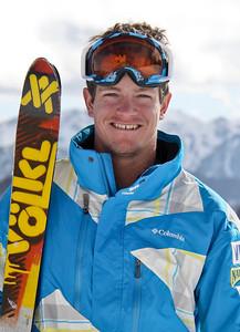 Joe Discoe 2011-12 U.S. Moguls Ski Team Photo: Eric Schramm
