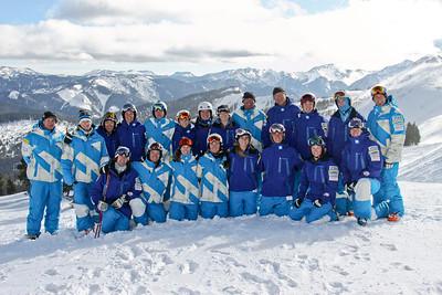 2011-12 U.S. Moguls Ski Team Photo: Eric Schramm