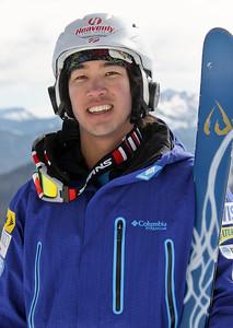 Sho Kasima 2011-12 U.S. Moguls Ski Team Photo: Eric Schramm