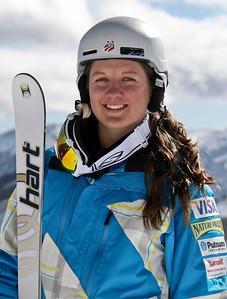 Brittany Loweree 2011-12 U.S. Moguls Ski Team Photo: Eric Schramm