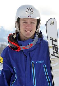 Bryon Wilson 2011-12 U.S. Moguls Ski Team Photo: Eric Schramm
