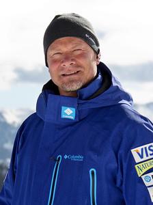 Coach, Lasse Fahlen 2011-12 U.S. Moguls Ski Team Photo: Eric Schramm