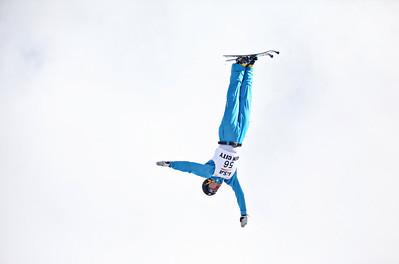 Hans Gardner U.S. Ski Team Selections NorAm aerials at Utah Olympic Park in Park City, Utah. Photo: Sarah Brunson/U.S. Ski Team