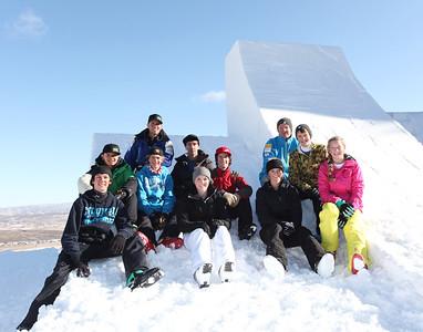 December 3, 2011 Freestyle Aerials Training Sarah Brunson/U.S. Ski Team