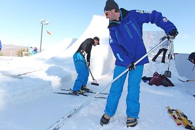 Scotty Bahrke December 3, 2011 Freestyle Aerials Training Sarah Brunson/U.S. Ski Team
