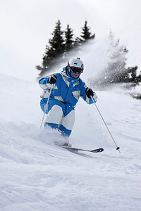 Nate Roberts 2011 U.S. Freestyle Moguls training at Wolf Creek Photo © Eric Schramm Image may be used for editorial purposes only.