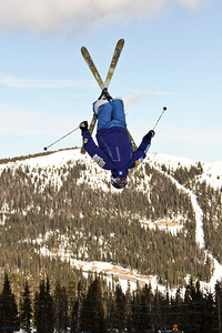 2011 U.S. Freestyle Moguls training at Wolf Creek Photo © Eric Schramm Image may be used for editorial purposes only.