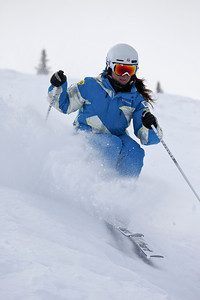 Brittany Loweree 2011 U.S. Freestyle Moguls training at Wolf Creek Photo © Eric Schramm Image may be used for editorial purposes only.