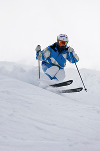 Eliza Outtrim 2011 U.S. Freestyle Moguls training at Wolf Creek Photo © Eric Schramm Image may be used for editorial purposes only.