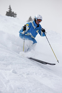 Joe Discoe 2011 U.S. Freestyle Moguls training at Wolf Creek Photo © Eric Schramm Image may be used for editorial purposes only.